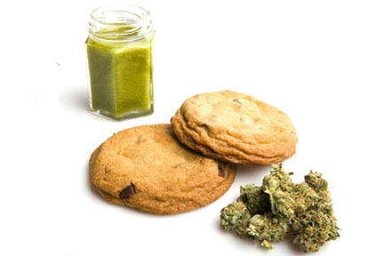Cannabis-Nahrungsmittel