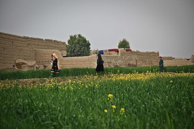 Bauernhof in Afghanistan