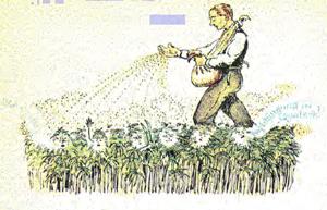 Bauer bei Hansäung