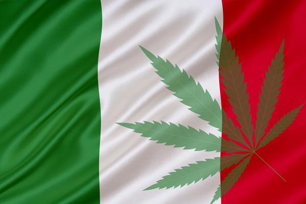 Marihuana-Italien