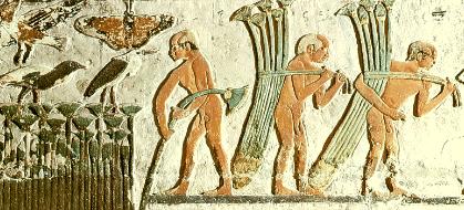 Papyrus-Abtransport in Ägypten 01, Relief