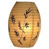 Weisse Papierlampe mit Muster aus China